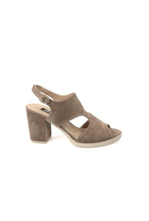 Ziya Kadın Sandalet 71128 5007 Vizon