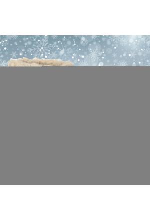 Shalin Gri Ponponlu Kürklü Kadın Kar Botu Bayan 40