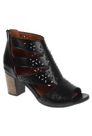 Beety Bty 1452 Siyah Bayan Ayakkabı