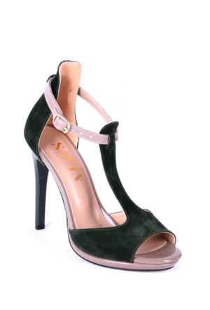 Sapin 25612 Kadın Topuklu Sandalet