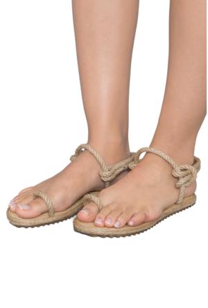 Gio&Mi F8 Bej Sandalet