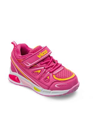 Vicco Bebe Işıklı Spor Ayakkabı Fuşya