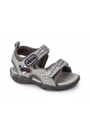 Vicco Cırtlı Işıklı Erkek Sandalet Gri