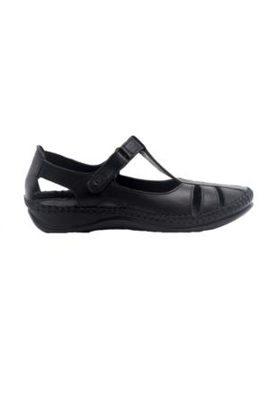 Greyder 55285 Kadın Sandalet Siyah