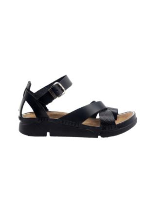 Greyder 51290 Kadın Sandalet Siyah