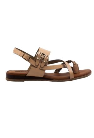 Greyder 55128 Zn Casual Kahverengi Kadın Sandalet