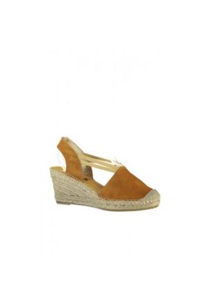 Elle Kesara Kadın Ayakkabı - Hardal
