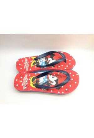 Disney Minnie Mouse Deniz Ve Plaj Kadın Parmak Arası Terlik
