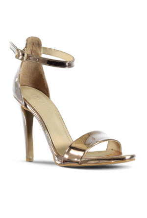 Marjin Aserna Topuklu Ayakkabı Altın