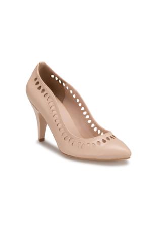 Miss F Ds17028 Bej Kadın 545 Ayakkabı