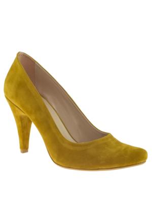 Alisolmaz 1002 Stiletto Hardal Bayan Ayakkabı