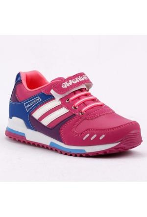 Arvento 865 Günlük Yürüyüş Koşu Kız Çocuk Spor Ayakkabı