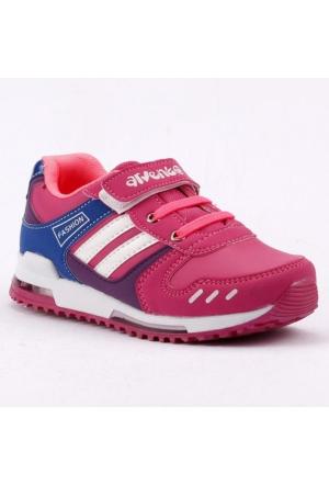 Arvento 865 Işıklı Günlük Yürüyüş Koşu Kız Çocuk Spor Ayakkabı