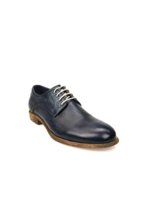 Uniquer Erkek Hakiki Deri Ayakkabı 71129U 14106 Lacivert