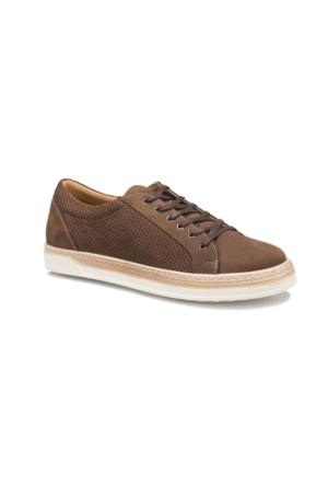 Forester 013 M 1413 Kum Erkek Deri Sneaker Ayakkabı