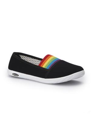 Polaris 71.354986.Z Siyah Kadın Sneaker Ayakkabı