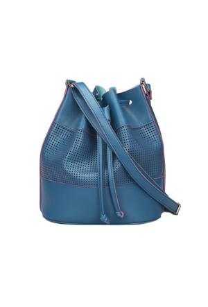 Polaris 71.960372.C Mavi Kadın Çapraz Çanta