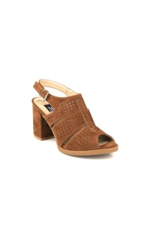 Ziya Kadın Sandalet 71128 5001 Taba