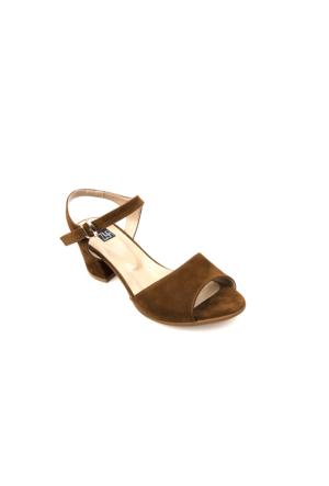 Ziya Kadın Sandalet 71128 6002 Taba