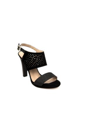 Ziya Kadın Sandalet 71128 2001 Siyah