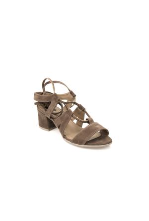Ziya Kadın Sandalet 71128 6020 Vizon