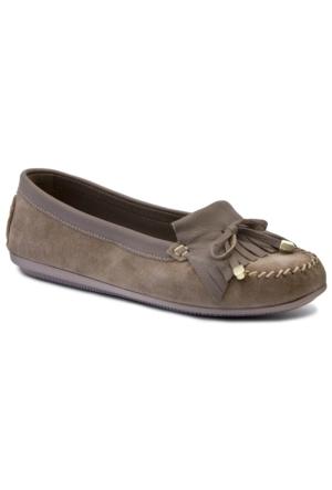 Greyder 58028 Kadın Vizon Casual Ayakkabı