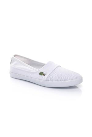 Lacoste Marice 117 1 Kadın Beyaz Babet Ayakkabı 733Caw1037.001