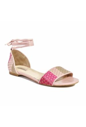 Desa Collection Örgü Desenli Kadın Sandalet