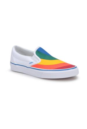 Vans Ua Classic Slıp-On Beyaz Kadın Ayakkabı