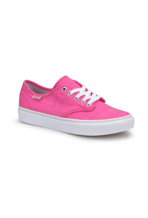 Vans Wm Camden Stripe Pembe Beyaz Kadın Ayakkabı