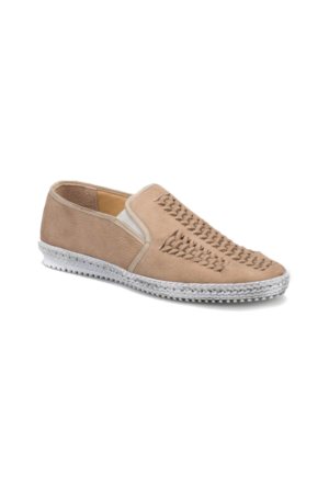 Flogart G-97 M 1455 Kum Rengi Erkek Deri Ayakkabı