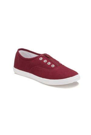 Carmens U2301 Bordo Kadın Ayakkabı
