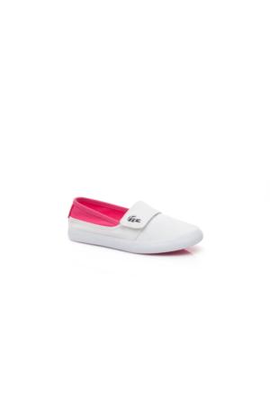 Lacoste Marice Çocuk Beyaz Babet 733Cac1025.B53