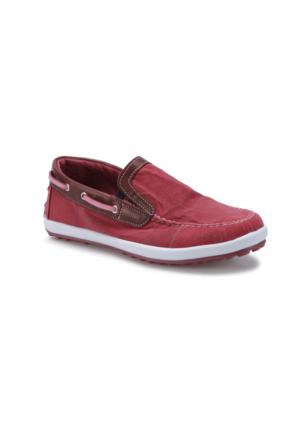 Panama Club Pnm508 Bordo Erkek Çocuk Loafer Ayakkabı