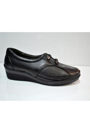 Forelli 26201 Kadın Ortopedik Deri Ayakkabı