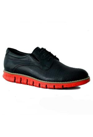Stilloni 282 Hakiki Deri Erkek Ayakkabı Siyah