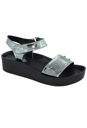 Stella 7040 Kadın Sandalet Gumus
