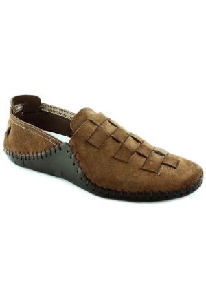 Footcap 902 Deri Erkek Ayakkabı Taba