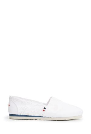 U.S. Polo Assn. Kadın Y7Cerelia Espadril Ayakkabı Beyaz