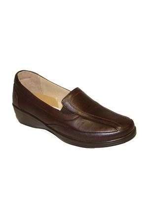 King Paolo Kadın Günlük Deri Ayakkabı H7105-1