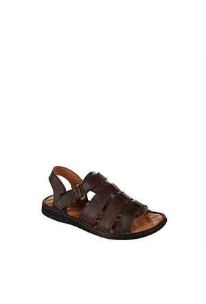 Punto Erkek Günlük Deri Sandalet 665023-02