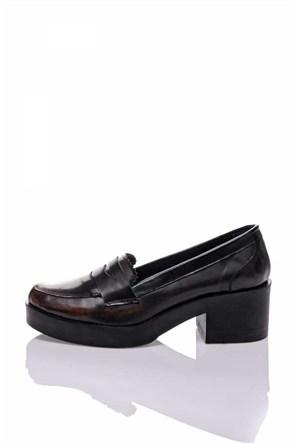 Bueno Bordo Klasik Rugan Ayakkabı