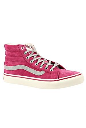 Vans Sk8-Hı Slım Pembe Kadın Sneaker
