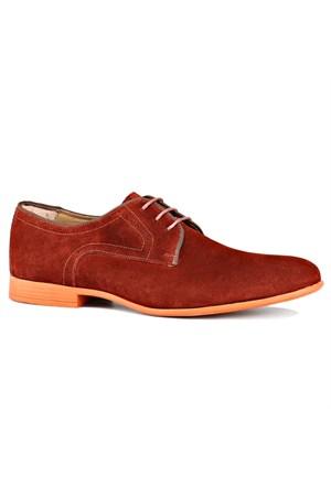 Jj-Stiller Kl-49156-2 M 1506 Kiremit Erkek Deri Ayakkabı