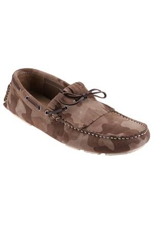 Jj-Stiller 345-2 M 1620 Kum Rengi Erkek Deri Ayakkabı