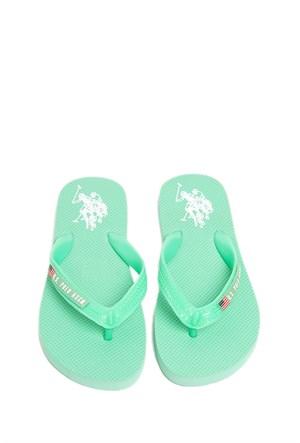 U.S. Polo Assn. Kadın Yeşil Ayakkabı