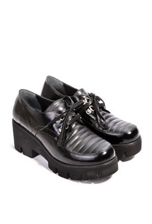 İlvi Haley 2000 Siyah Açma Ayakkabı