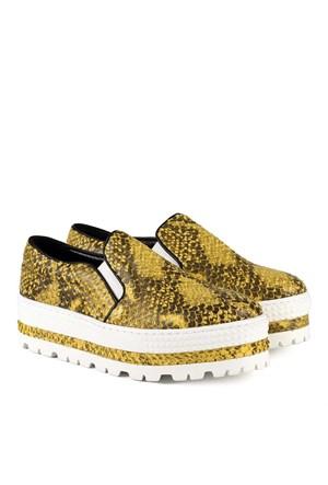 İlvi Hezer 6156-13 Sarı Ayakkabı