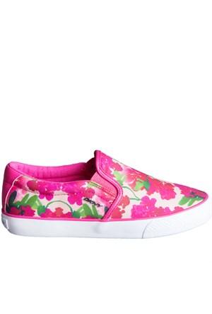 Dkny Beth Floral Print 23151806 Kadın Ayakkabı Pınk Multı