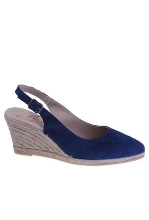 Thea Ante Tesi Gaimo Kadın Ayakkabı Ultramarıno